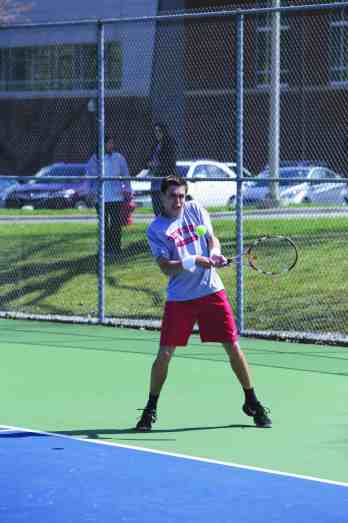 Grant Veltman '15 finished his Denison career with 119 wins in singles and doubles.