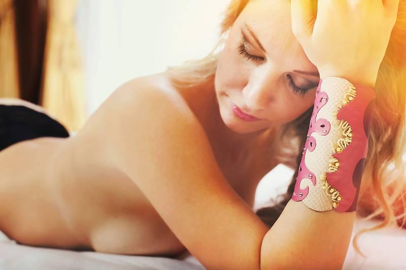 """Fashion designer Branka Poljak – """"Skin"""" leather jewellery"""