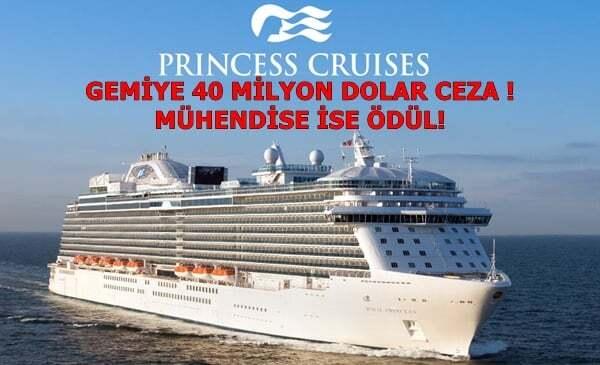 Yolcu Gemisine Rekor Ceza – Makine Mühendisine Ödül