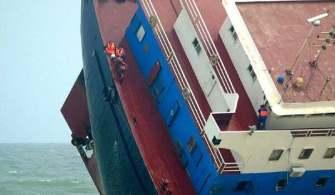Batmakta Olan Gemiden 5 Personel Kurtarıldı