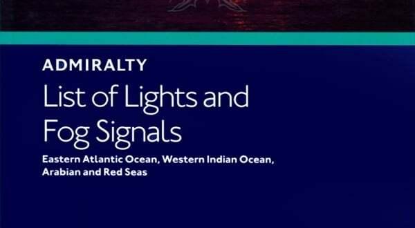Fenerler ve Sis İşaretleri Kitabı | Admiralty List of Light And Fog Signals