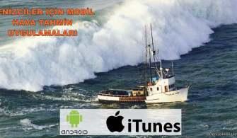 Denizciler İçin Mobil Hava Tahmin Uygulamaları