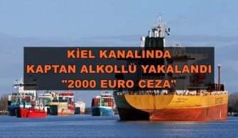 Alkollü Kaptanı Personel Şikayet Etti, Polis Gemiyi Durdurdu