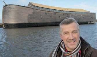 Hollandalı Marangoz Nuh'un Gemisini Yeniden İnşa Etti