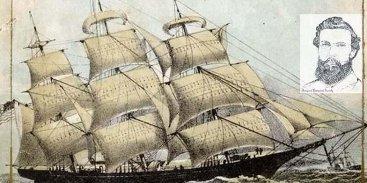 Kaptan Josiah A. Mitchell ve Hornet Gemisinde Çıkan Yangın