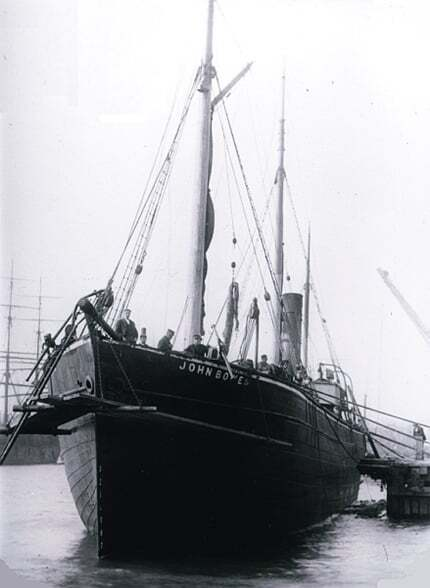 maritime-articles - SS John Bowes - First Ship with Ballast Tank John Bowes