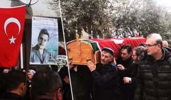 """Tanker Kazasında Hayatını Kaybeden """"Semih Solak"""" Toprağa Verildi"""
