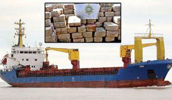 M/V Eser Gemisinde Kokain Yakalandı