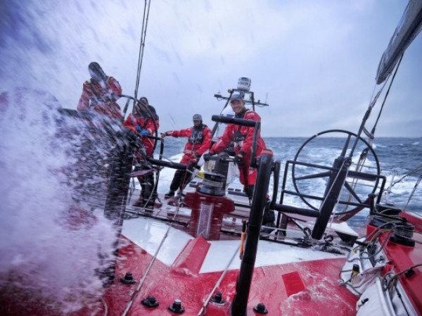 Hamish Hooper CAMPER ETNZ Volvo Ocean Race