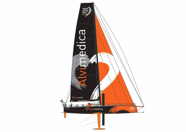 Team Alvimedica Boat Design for the Volvo Ocean Race 2014-15