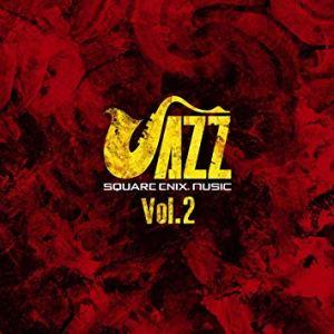 CD cover for Square Enix Jazz Volume 2