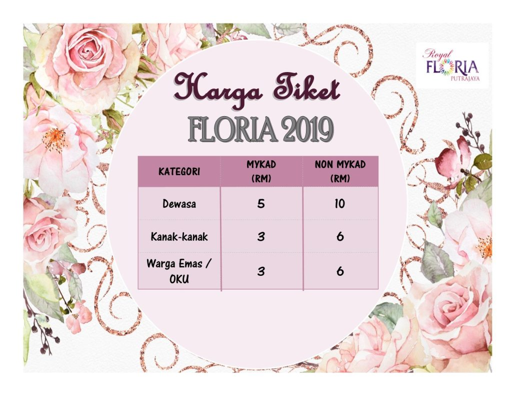 Its All About Royal Floria Putrajaya 2019