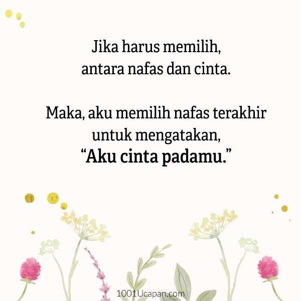 100 Kata-Kata Cinta Melayu - Pendek, Islamic, Romantis