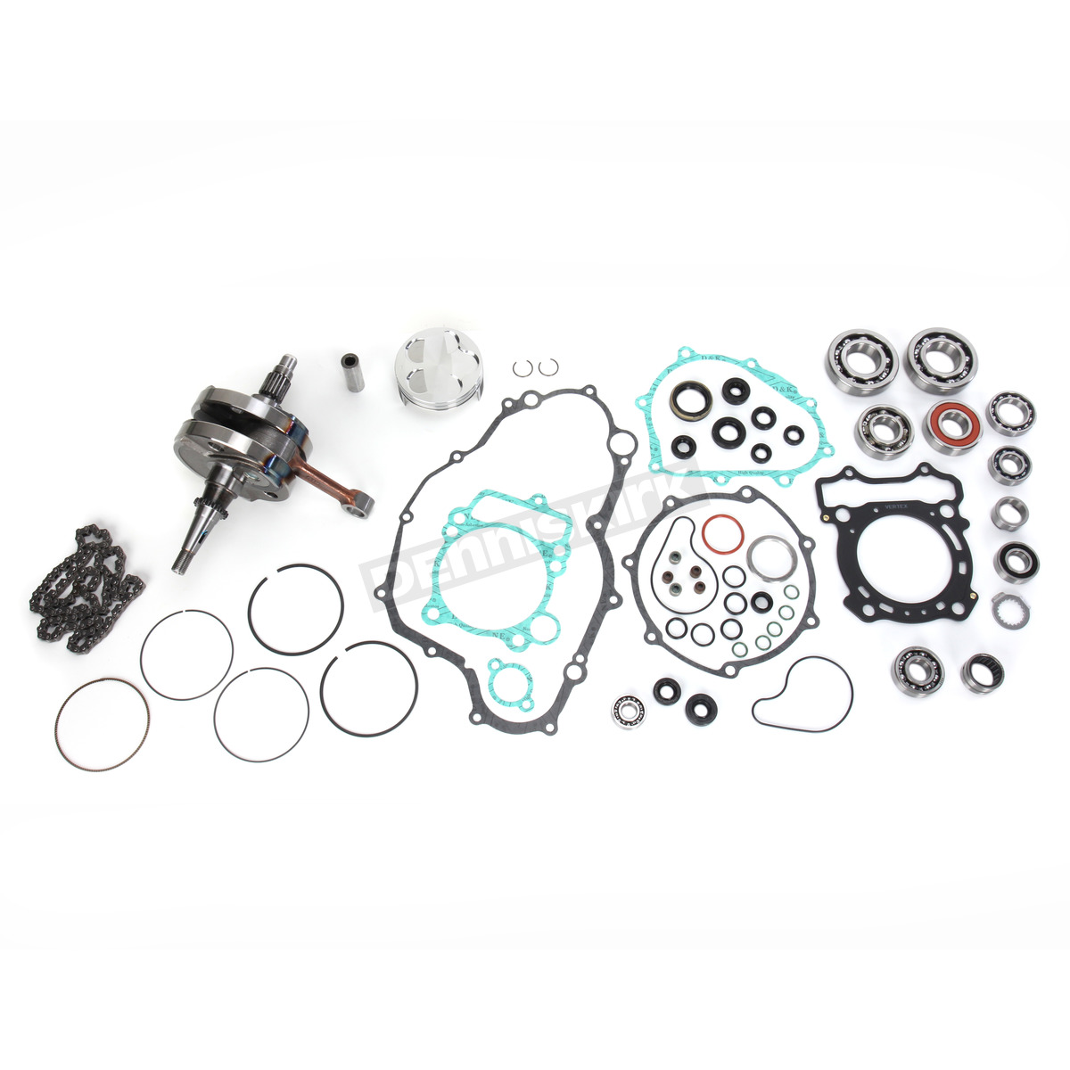 Wrench Rabbit Complete Engine Rebuild Kit 77mm Bore