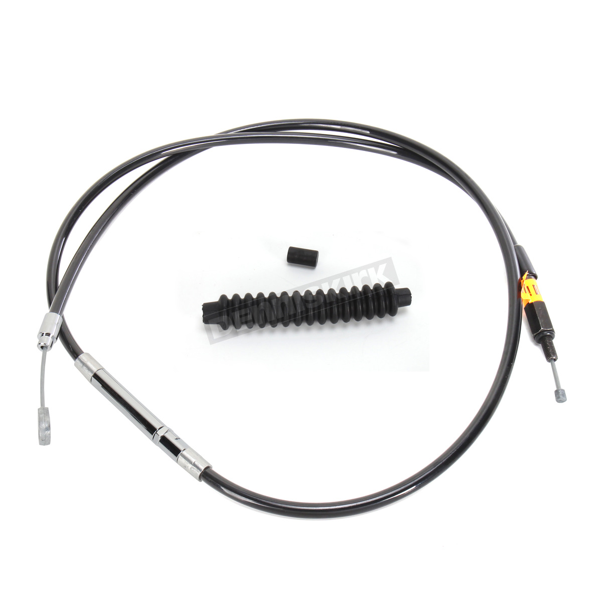 La Choppers Black Vinyl Coated Clutch Cable For Use W 18 In To 20 In Ape Hangers