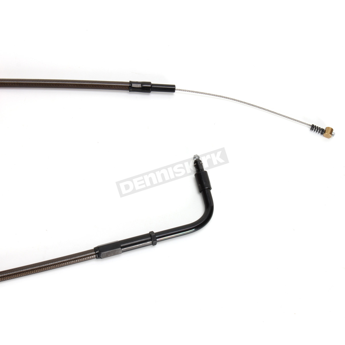 La Choppers Midnight Stainless Idle Cable For Use W 12 In To 14 In Ape Hangers Single Disc