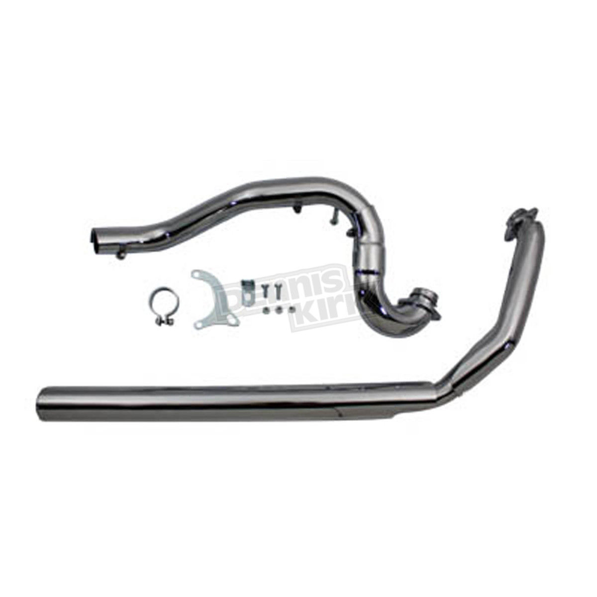 V Twin Manufacturing Chrome True Dual Crossover Header