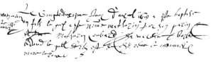 Baptism of Mathurin Meunier 1619-04-20