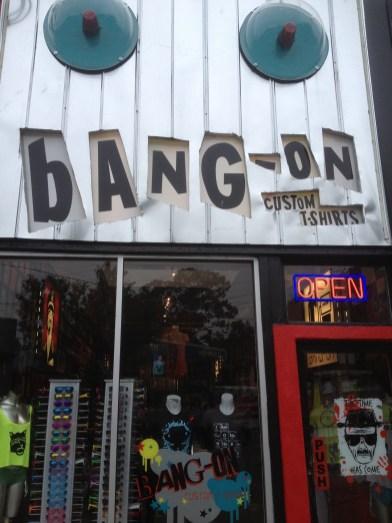 Outside Bang-On