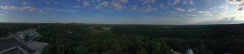 Panoramic view from the tower