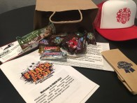 Inside the swag bag for Frack Fest