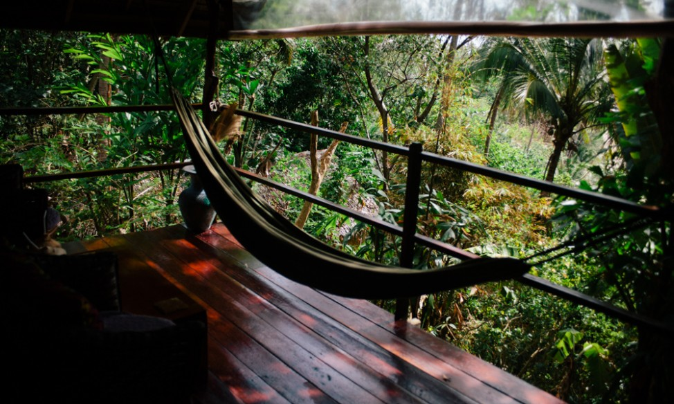 Relaxing in your balcony