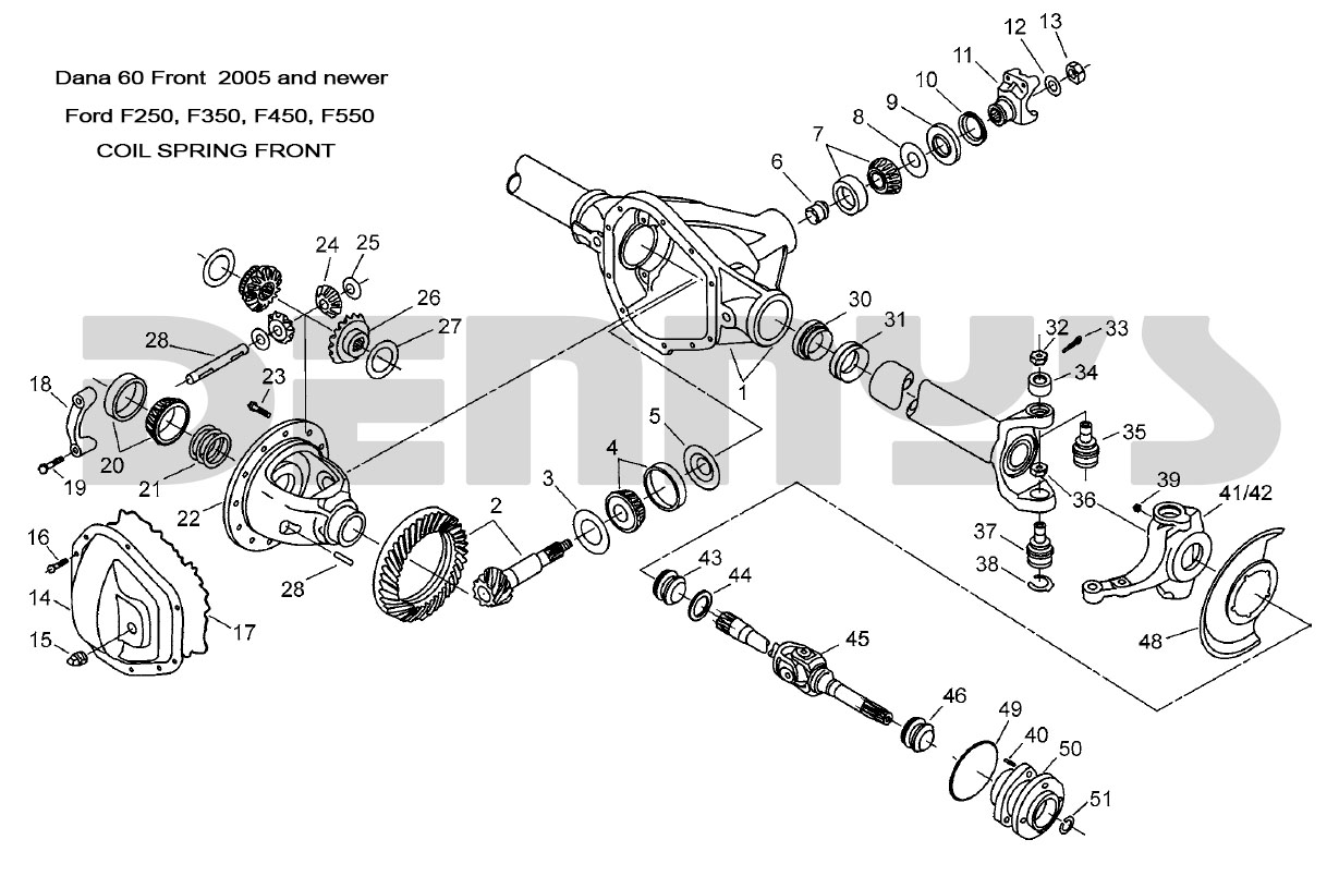 Ford F250 Oem Parts Diagram