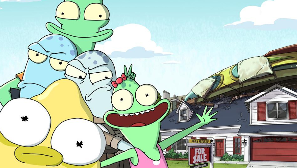 Solar Opposites: Trailer for Hulu Series from Rick and Morty Team ...