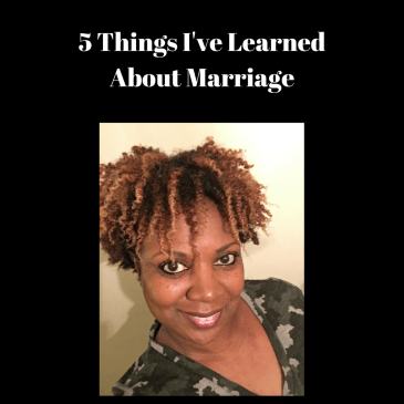 5 Things I've Learned About Marriage