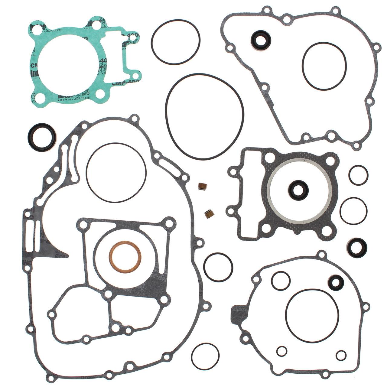 Complete Gasket Kit W Oil Seals Kawasaki Klf250 Bayou