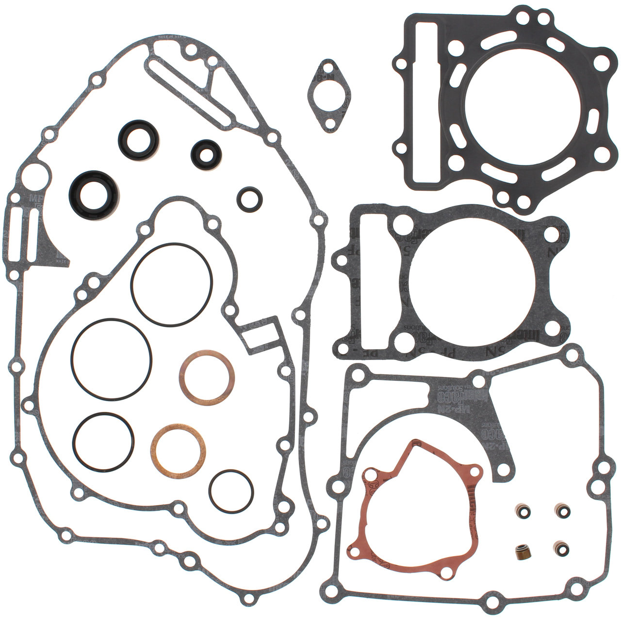Complete Gasket Kit W Oil Seals Kawasaki Klf400 Bayou