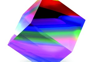 3D colorful cube