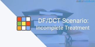 DF/DCT Scenario: Incomplete Treatment