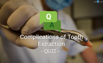 Complications of Tooth Extraction Quiz