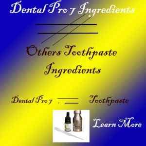 Dental Pro 7 Toothpaste