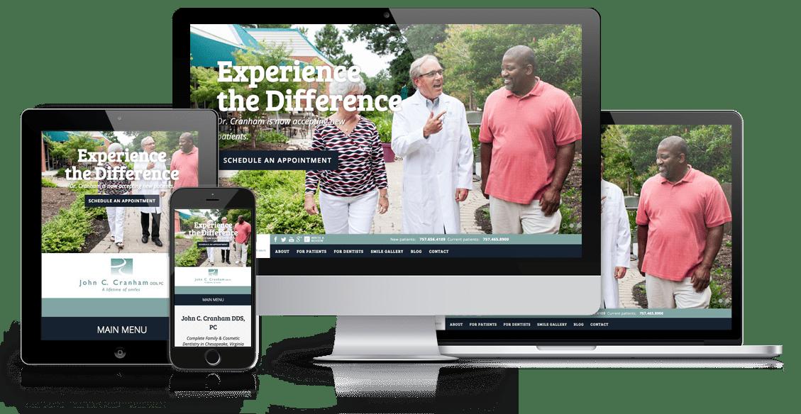 Dr. Cranham Responsive Website