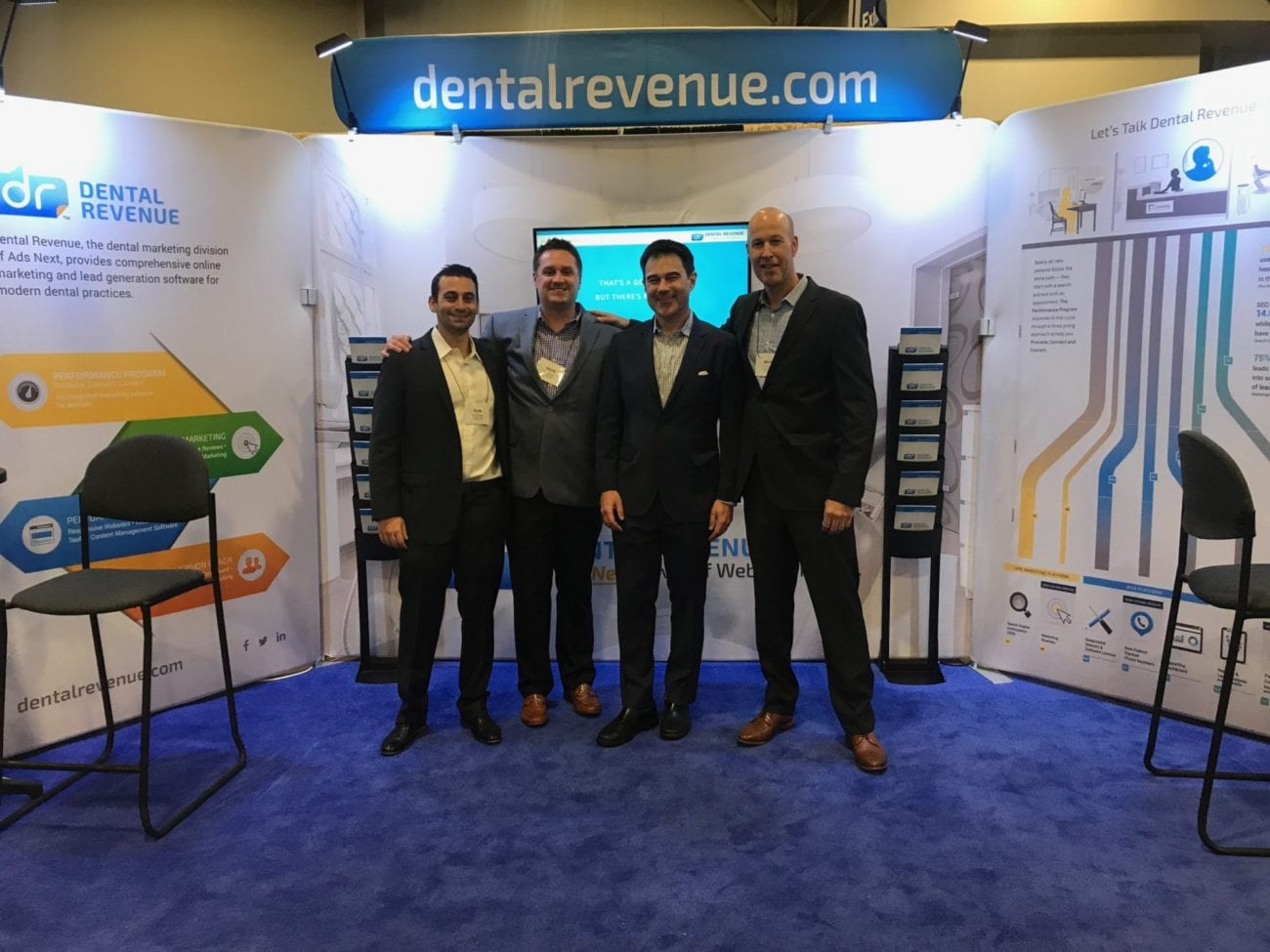 dental revenue team at aacd 2017
