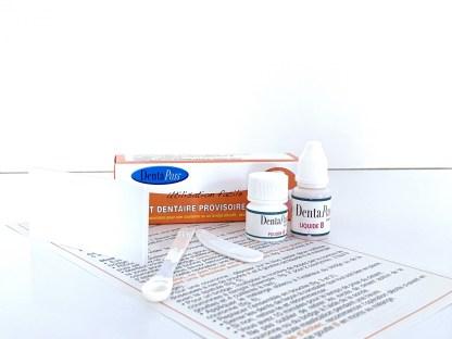 Mini kit de collage pour Prothese dentaire fixe
