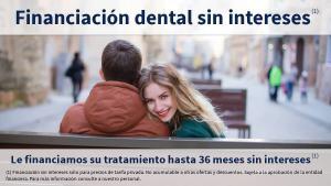 financiamos su tratamiento dental hasta 36 meses sin intereses