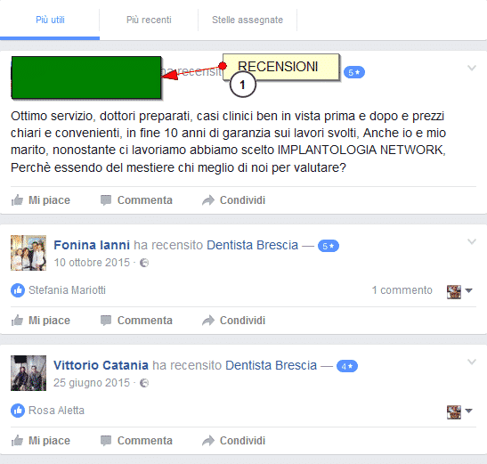 recensioni testimonianze pareri forum implantologia network