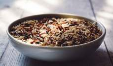 bowl with whole grain rice