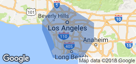 Map Gardena And Surrounding Areas