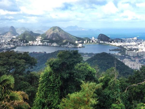 Vista Chinesa a Rio de Janeiro