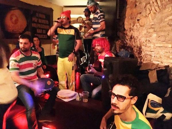 Coletivo do Bigode: roda de samba