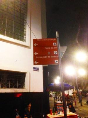L'angolo con la Rua Sacadura Cabral