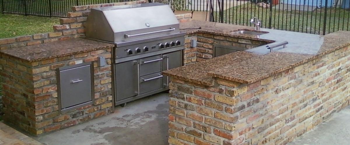 Denver BBQ Islands and outdoor kitchen contractor