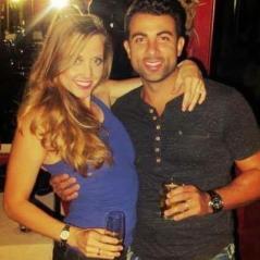 Nicholas with wife Jesse