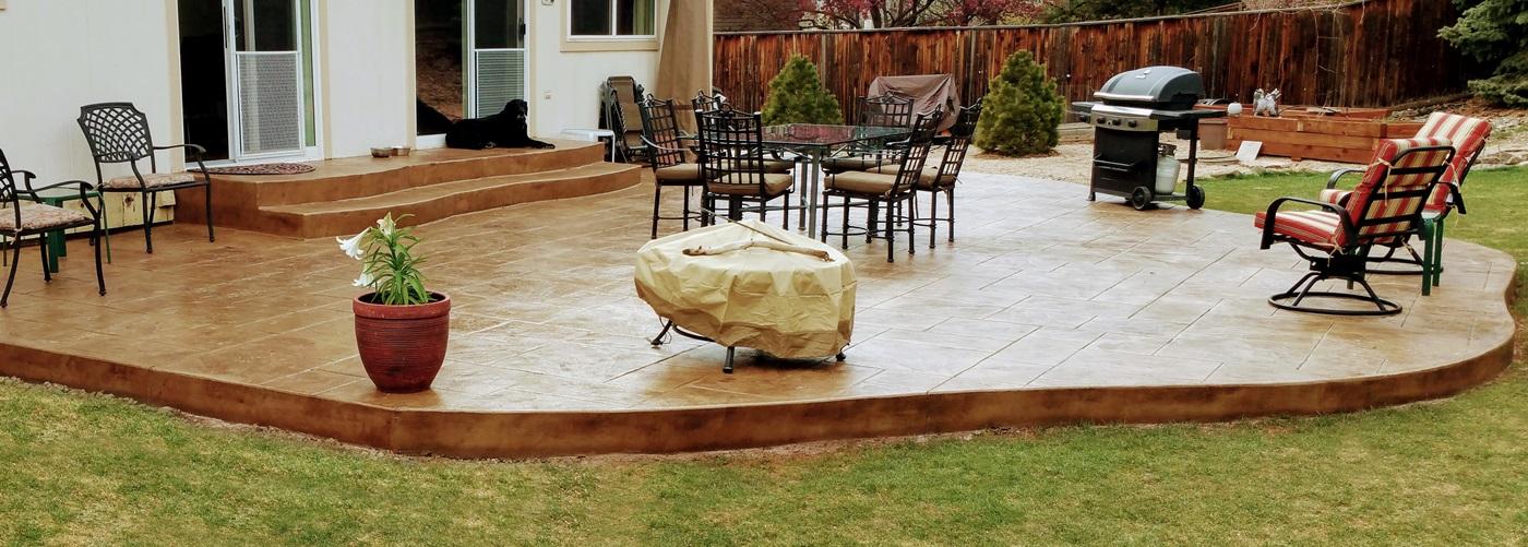 Denver Concrete Patios by J's Custom Concrete