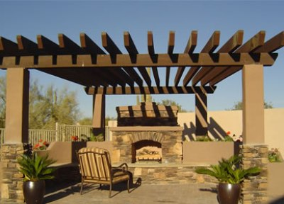 Denver Outdoor Custom Fireplace