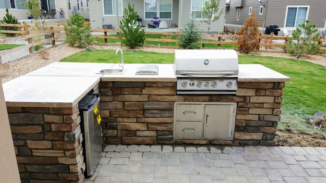 Complete Outdoor Kitchen Denver Firepit Outdoor Kitchen Gallery